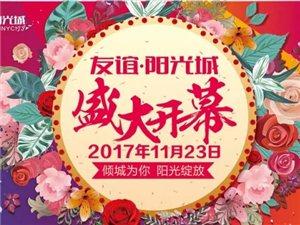 11月23日盛大开幕,整个海南都在等TA,友谊・阳光城开业折扣要逆天咯
