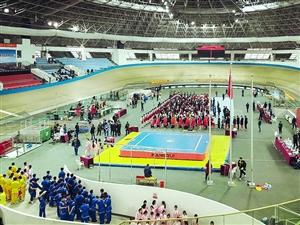 浙江省首届武术馆校武术比赛在长兴隆重开幕