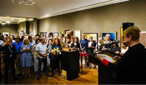 当代著名艺术家曹雕作品在美国连获多项国际大赛