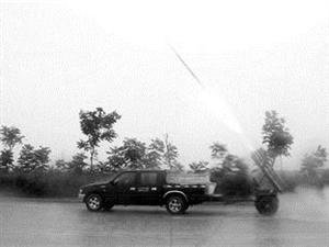 汉中市气象局:24小时值守开展人工增雨作业