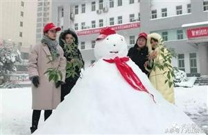 光山城乡雪景百态,美不胜收!