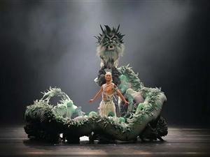 杨丽萍执导的民俗舞台剧《平潭映象》在长兴上演