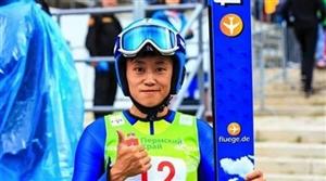热烈祝贺咱辉南籍运动员常馨月成为中国跳台滑雪历史上第一次打进冬奥会的女子运动员
