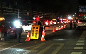 鄂州交警集中查处违法行为78起 行政拘留15人