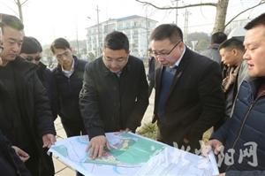 省工业建筑集团董事长刘光辉来我市考察