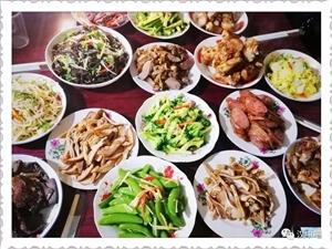 汉中各县区年夜饭大比拼!