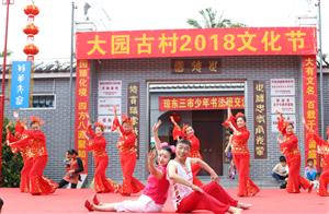 大园古村2018年第二届文化节隆重举行