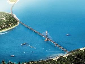 利好!铺前大桥预计年内通车 20分钟可直达海口