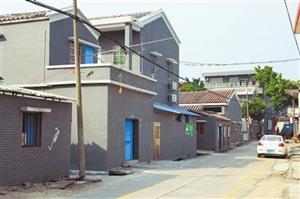 斗门省级新农村建设示范片外立面改造项目一期完工 205间民房改头换面