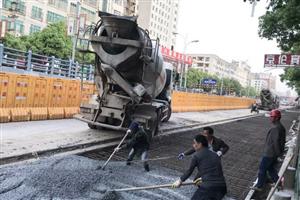 """【追踪】城区排渍排涝工程建设""""加速度""""持续上演"""
