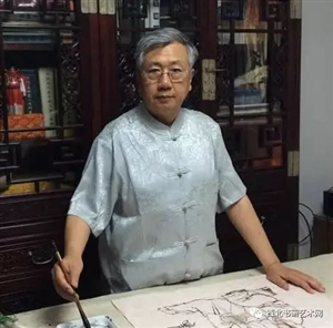 书画名家曹留夫笔下古人趣事题材的画