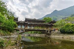 去重庆的冷门古寨 享受清新旅途
