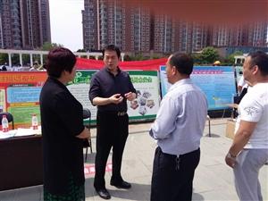 """龙8国际水司 积极开展""""5.12"""" 防灾减灾宣传活动"""