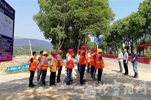 合意至玉泉寺道路改造工程开工建设