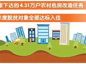 陕西打赢2017年农村危房改造翻身仗 被列为全国五个督查激励省份之一