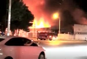 昨晚滨州申通快递院内突起大火!官方发布通报……