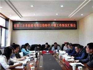 省第三方考核组到镇雄县考核评估以勒特色小镇创建工作