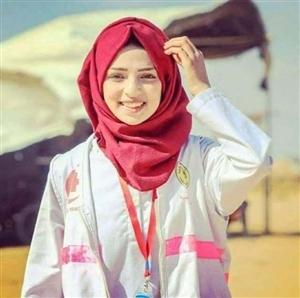 巴勒斯坦美女护士被以军枪击身亡