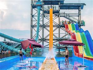 鄂州附近的水上乐园,嗨翻整个夏天