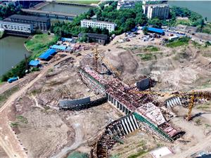 樊口二站工程正在加紧建设中