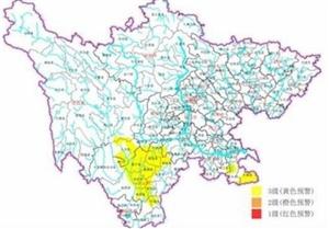 注意了!四川6市州发出地质灾害黄色预警