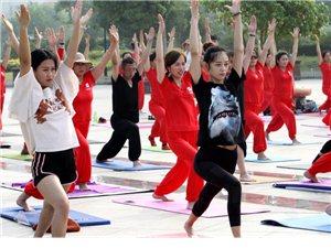 喜迎2018枣庄首届《国际瑜伽日》