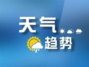 未来三天持续阴雨天气