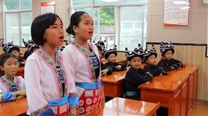 我县北侗文化进校园示范班开班典礼在桐林小学举行