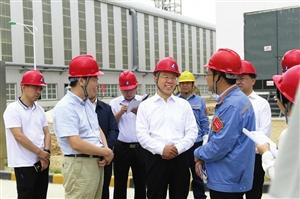 李正印在兴县调研脱贫攻坚、转型发展工作