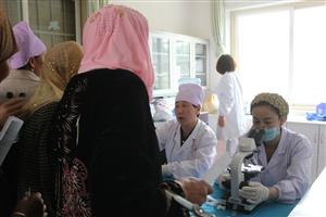 """""""两癌检查""""活动持续进行中,县妇计中心走进第五站――木河乡"""
