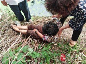 纯化镇一7旬老人勇救河中落水妇女传递社会正能量
