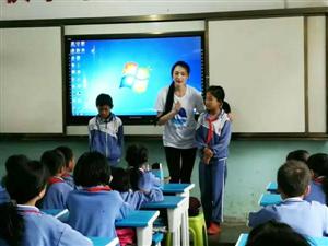 志愿者桃子老师的一堂公开课