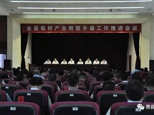 全县板材产业转型升级工作推进会议召开