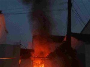 下班途中路遇民房火灾  吴中区联动中心巡查员正确快速处置两起火灾