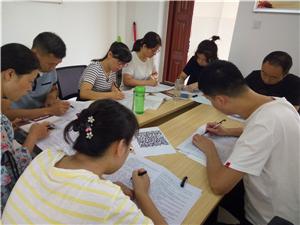 汉九中丰富内容开展九月份主题党日活动