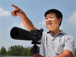 """淮南湿地""""候鸟人""""―记河南c07彩票淮南湿地方家湖保护站站长徐士华"""