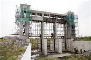 陶庄大金港水闸本月底完成改造