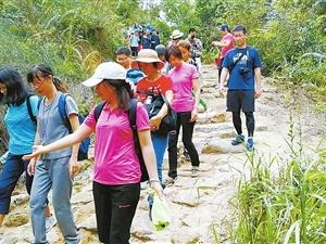 长南迳古道成为市民徒步新选择