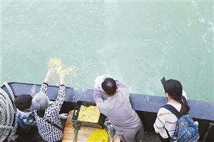 永利娱乐场官网市举办第22次海葬活动 55位逝者魂归大海