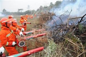 略阳秋冬季森林防火全面展开