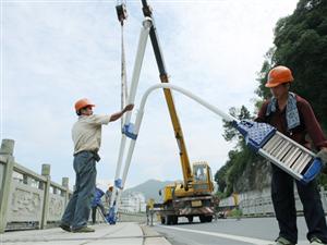 快看,鄂州主城区5条道路将安装路灯!