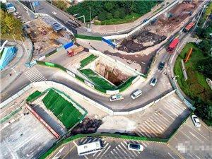 泸州龙马潭区关口到底还要堵多久?关口交叉口改造工程什么时候实现通车?