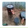 农业技术:民间牛人自制小火炉,不用油不用电,比天然还旺