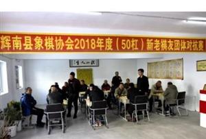 辉南县象棋协会举办2018年度新老棋友团体对抗赛