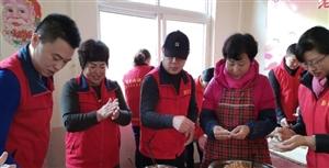 二0一九年一月六日,犁乡星爱心队送暖洪杰养老院。这里有潭格庄、大夼、姜疃、羊郡四个镇的老人居住。