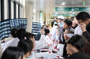 58名上海专家来善开展大型义诊