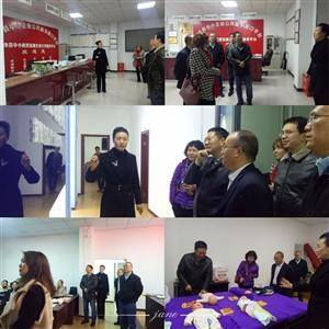 重庆市人社局、县人社局、县就业局等领导到彭水县中小企业公共服务中心、彭水县远宏职业培训学校指导工作