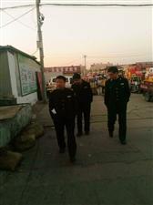 高邑县市场监管局开展对蔬菜市场食品安全大检查