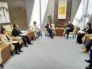 海西州政府副州长阿英德一行赴杭州考察对接工作