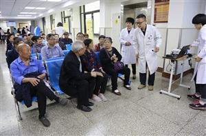 """福彩3d胆码预测市中医院开设了""""门诊科普知识讲座"""""""